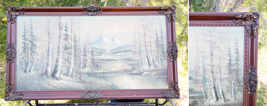 Painted Mirror - Coast & Country Vintage