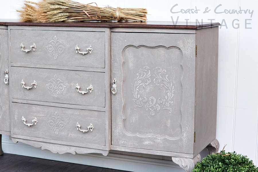 Raised Stencils with Coast & Country Vintage